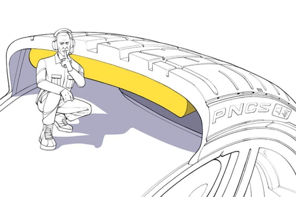 Pirelli e le gomme silenziose, ecco come funzionano