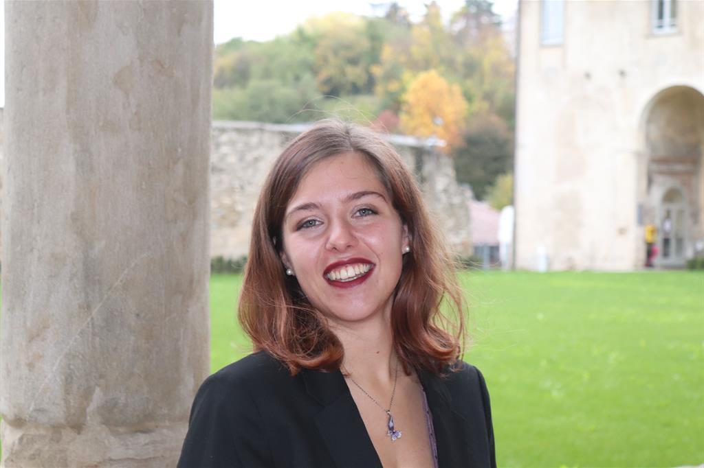 Irene Poloni, 22 anni, studentessa lavoratrice in apprendistato