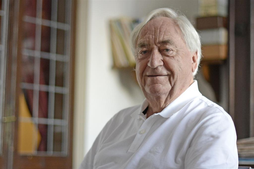 Lo scrittore olandese Cees Nooteboom (Giorgio Boato)