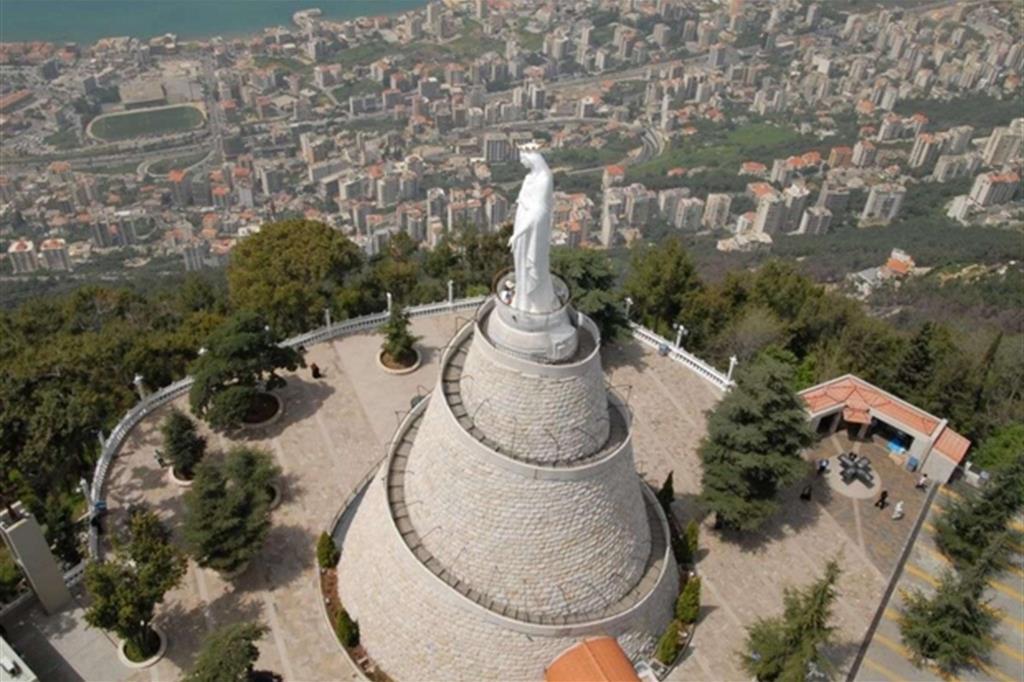 Il Santuario di Nostra Signora del Libano