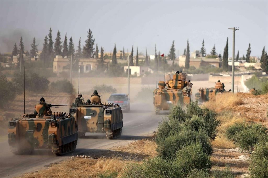 L'avanzata prosegue dell'esercito di Ankara prosegue -