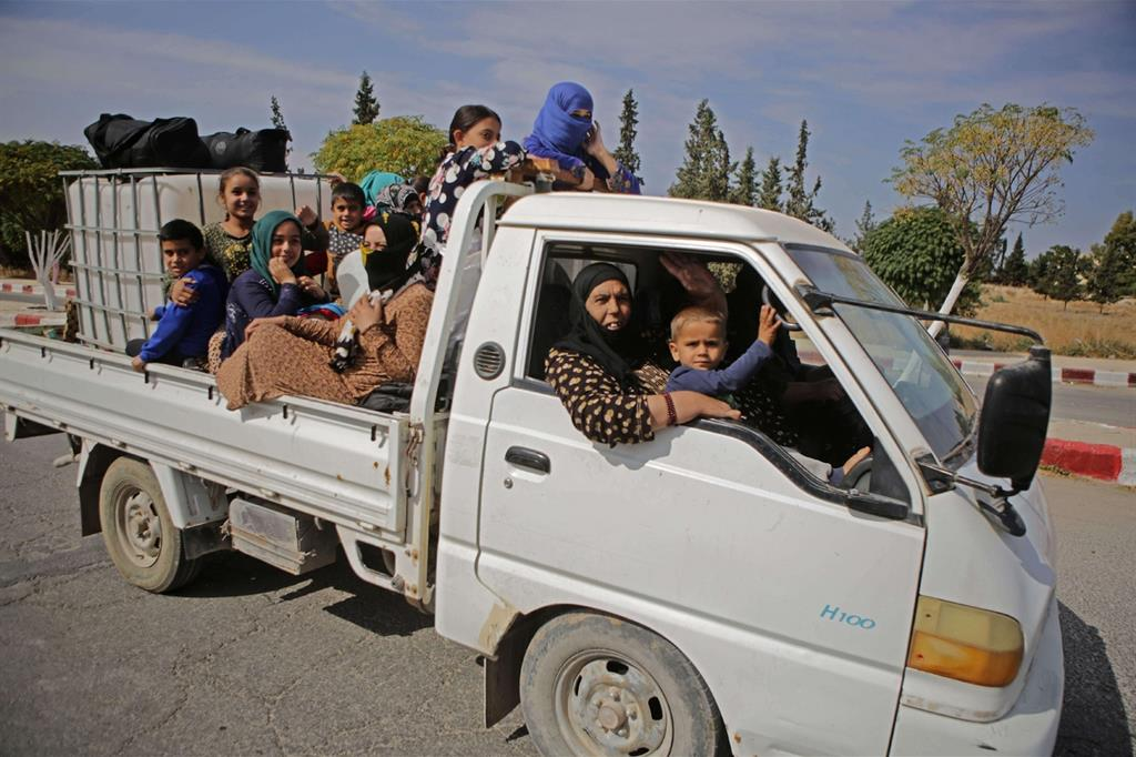 Nella sola città di Hasakeh, per fare un esempio, in tre giorni sono arrivate 60mila persone in fuga dal conflitto -