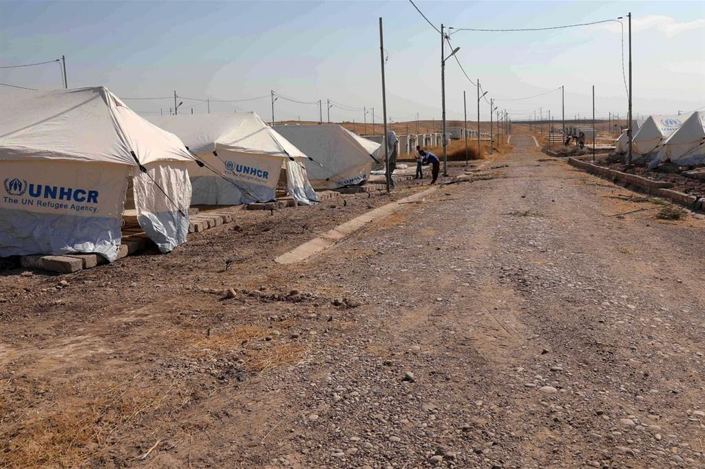 Ecco un nuovo campo profughi. Triste come tutti gli altri -