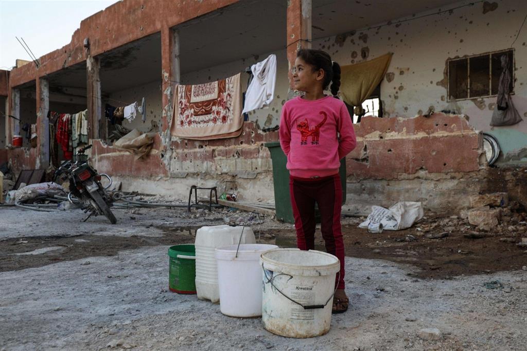 Come ricorda l'Oxfam un'emergenza particolare è rappresentata dalla carenza d'acqua -
