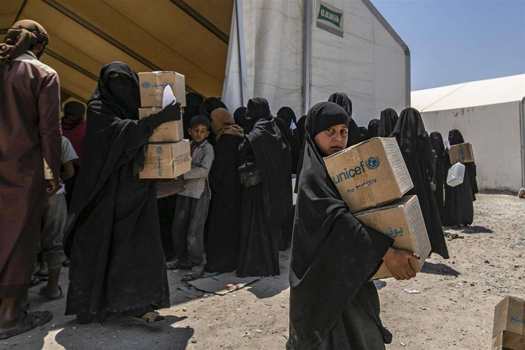 L'Unicef sta cercando di portare beni di prima necessità nell'area -