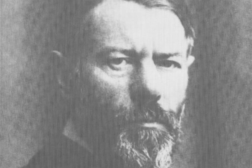 Il sociologo e filosofo tedesco Max Weber (1864-1920) dal quale prende spunto la riflessione del priore di Bose