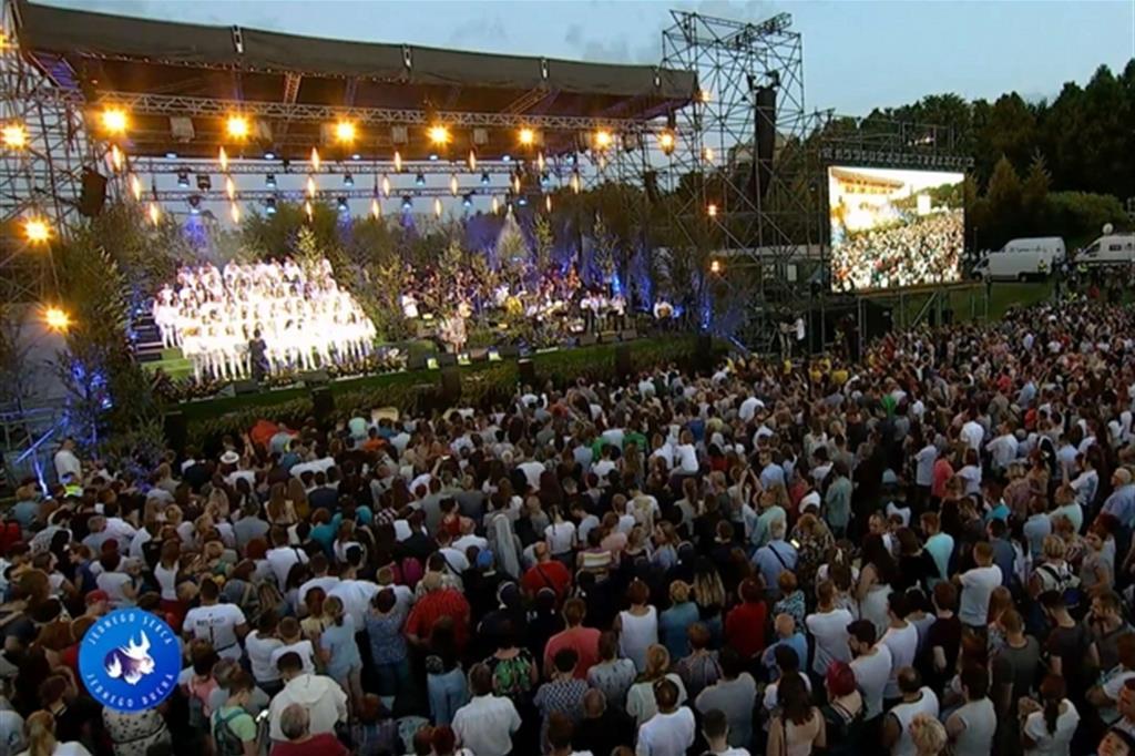 50mila persone al più grande concerto di evangelizzazione in Europa