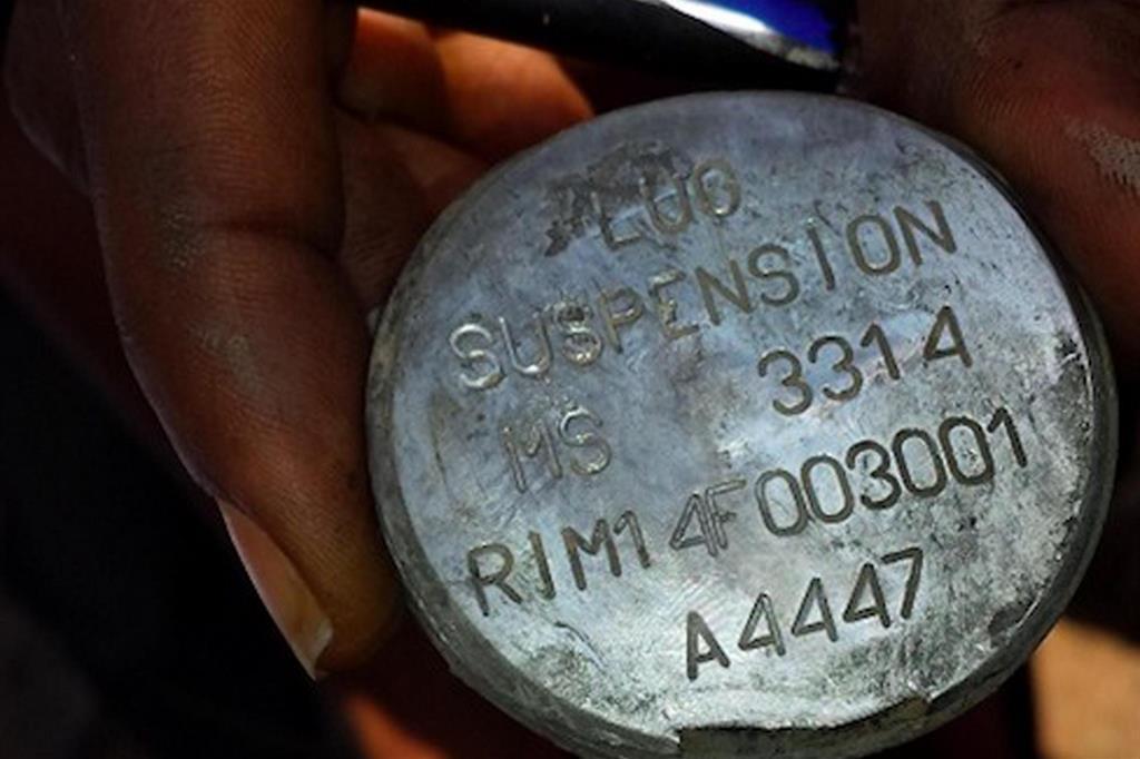 Camera approva mozione per stop all'esportazione di bombe