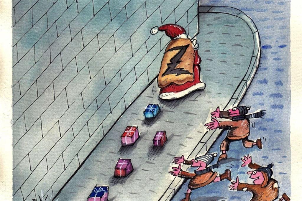 La vignetta di Dor Axinte (Romania) - Buduàr