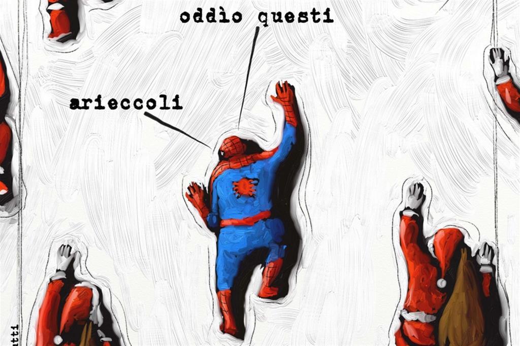 L'uomo ragno natalizio di Mario Magnasciutti - Buduàr