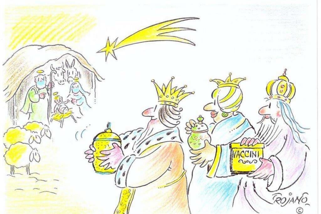 I Re Magi oggi portano al Bambinello oro, incenso e vaccini per Lucio Trojano - Buduàr