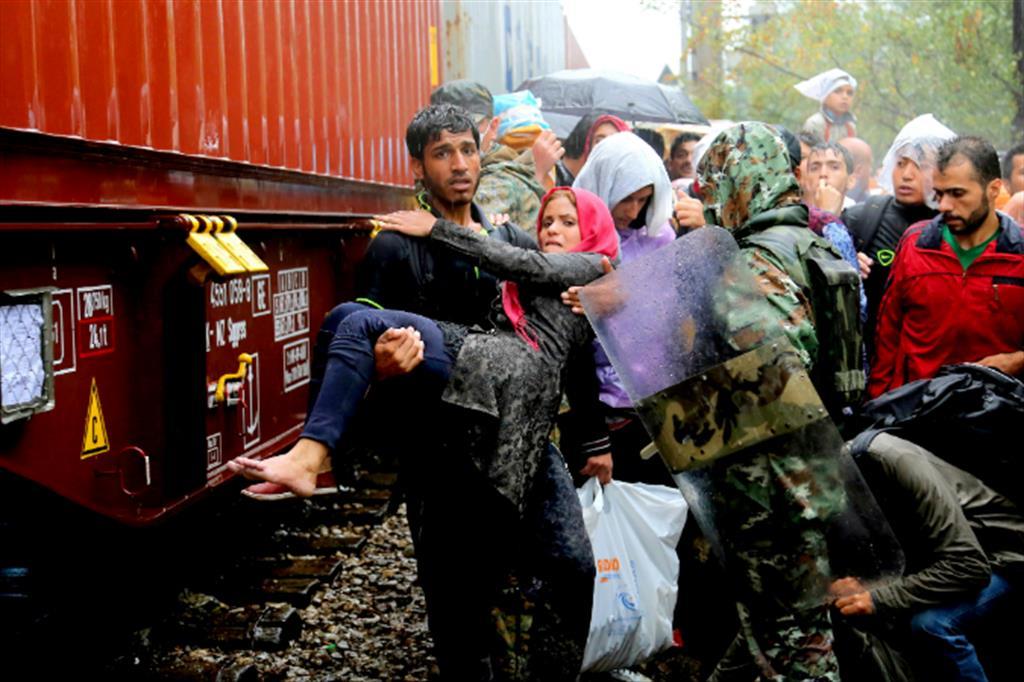Profughi siriani sulla rotta balcanica