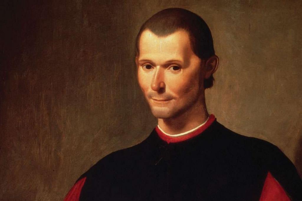 Niccolò Machiavelli nel celebre ritratto di Santi di Tito