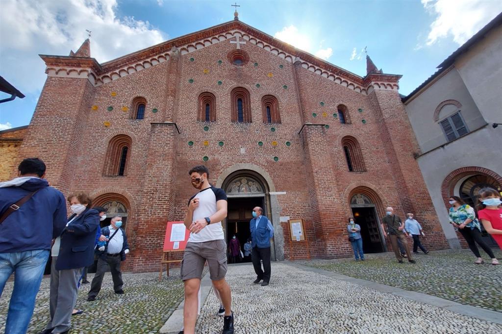 Una parrocchia alla periferia di Milano