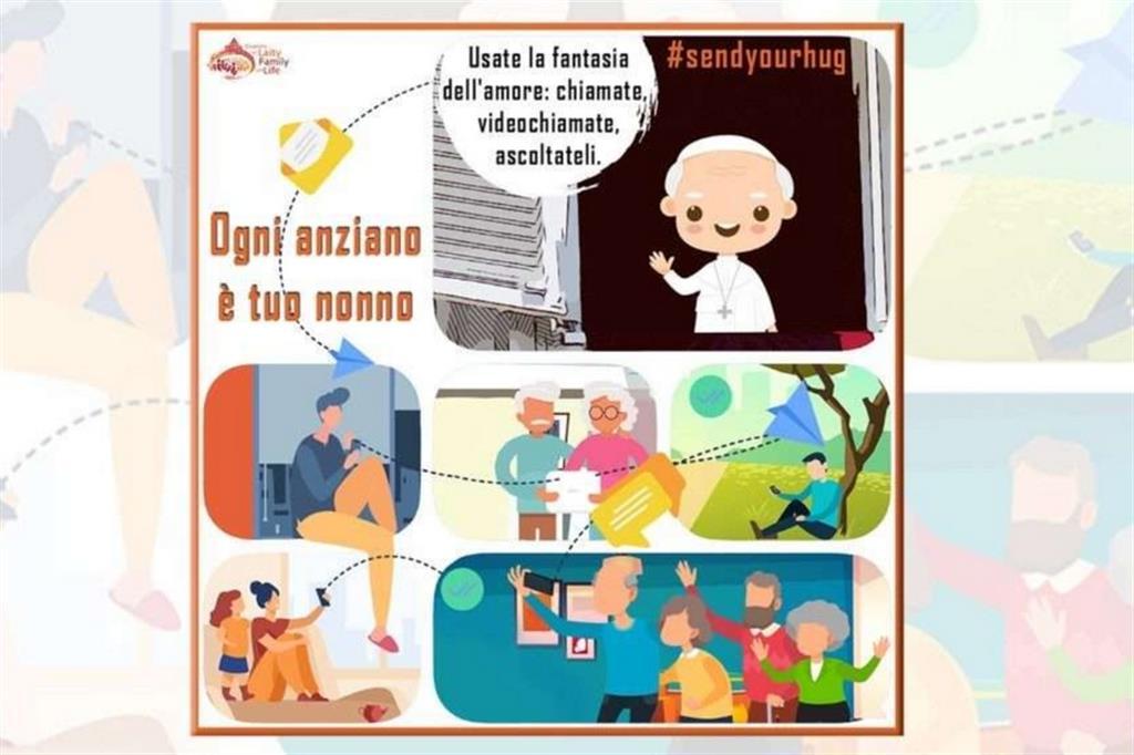 Il Vaticano lancia la campagna «Ogni anziano è tuo nonno»