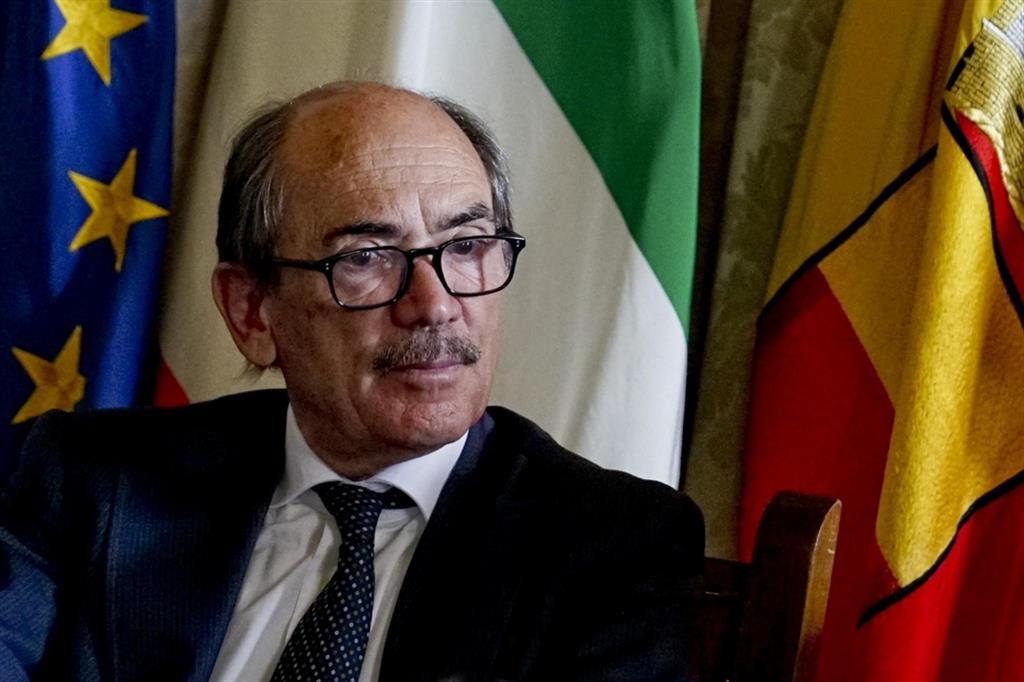 Il procuratore nazionale Antimafia, Federico Cafiero De Raho