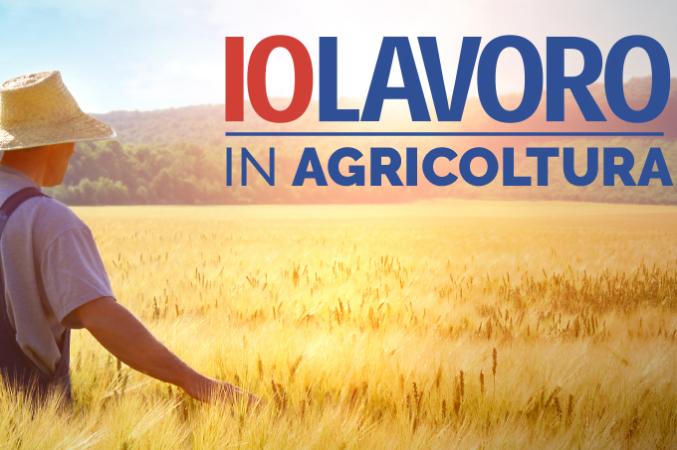 """Iolavoro in agricoltura"""""""