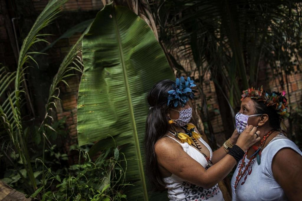 Sono molti gli indios riparati a Manaus