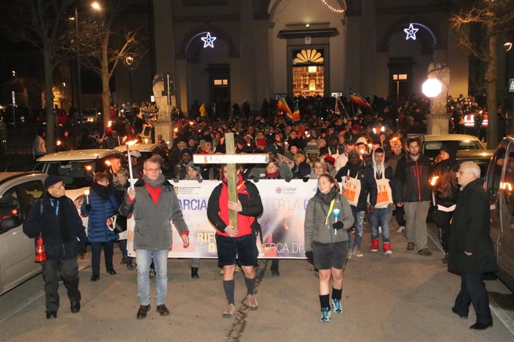 La Marcia per la pace del 31 dicembre per la prima volta si terrà online