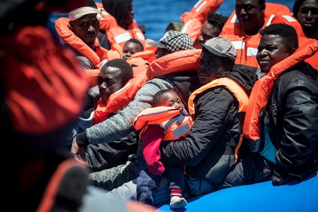 Un salvataggio del 2019 fatto in acque maltesi