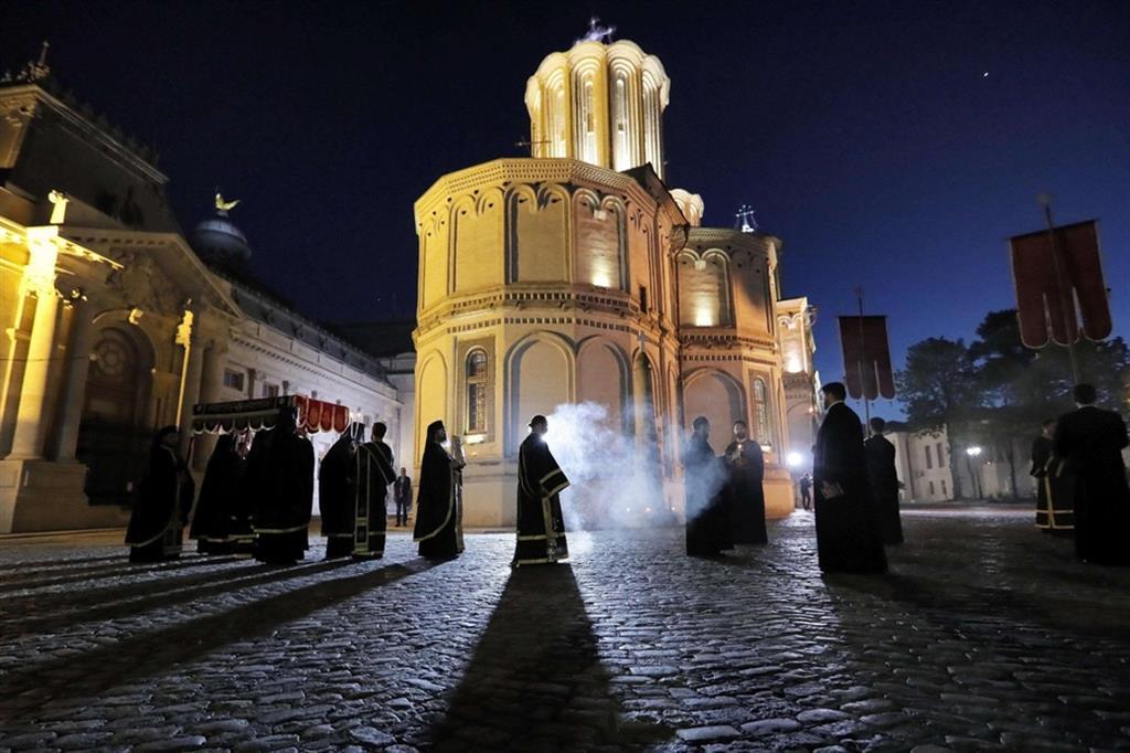 Bucarest, Romania - Ansa