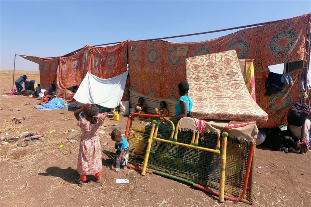 L'Etiopia accusa il Tplf di aver fatto saltare i ponti. Il blackout del web e della rete telefonica rende impossibile verificare le notizie. È certo invece che sono quasi 30mila i profughi già fuggiti in Sudan. E metà sono minori. In Sudan era da inizio secolo, ai tempi della guerra tra Etiopia ed Eritrea, che non si vedeva un simile esodo di profughi - .