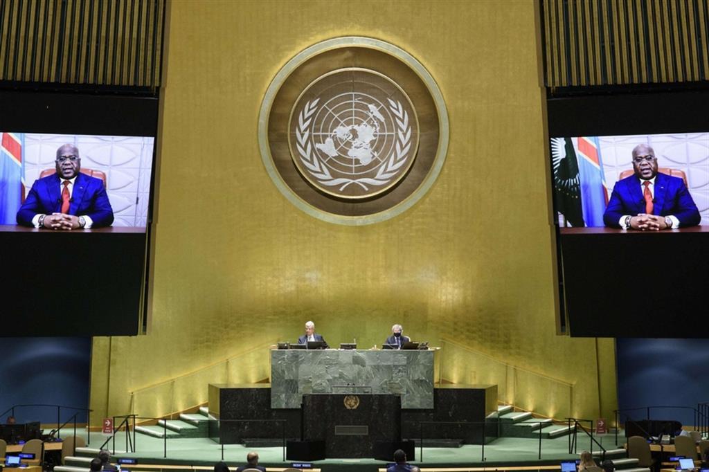 Un'immagine dell'ultima Assemblea generale alle Nazioni Unite