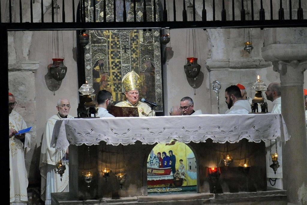 Celebrazione nella cattedrale di San Nicola - Fotogramma