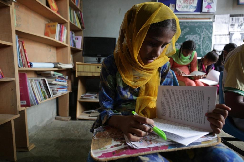 In India la dispersione scolastica è molto alta soprattutto per le bambine