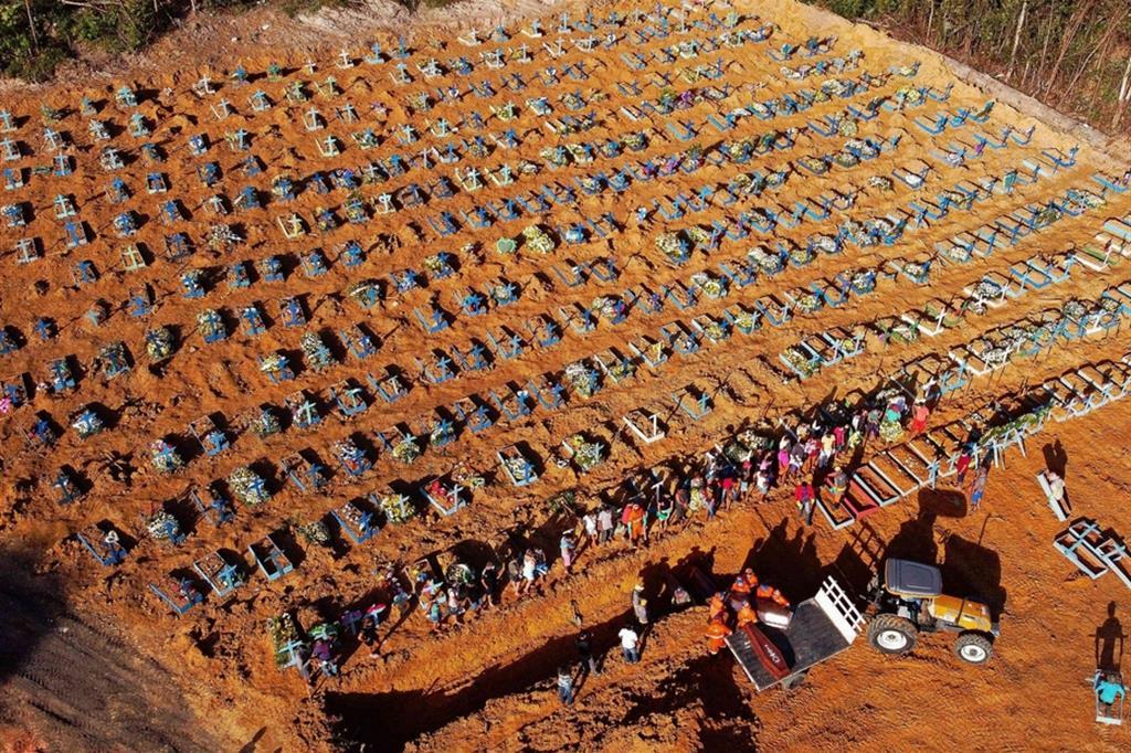 Fosse comuni in Amazzonia, a Manaus è una strage