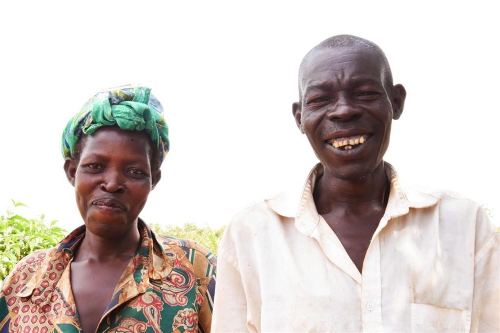 Alice è una madre di 6 figli, vive nel nord dell'Uganda e con il suo coraggio è riuscita a far cessare il comportamento violento del marito ridando un futuro alla sua famiglia - Avsi
