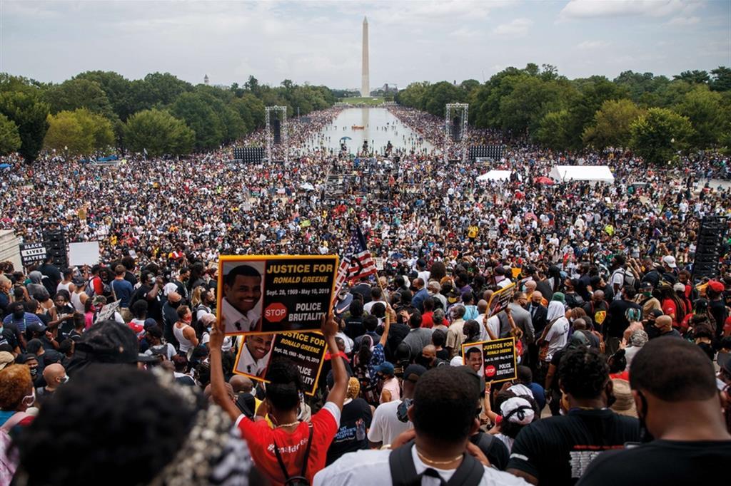 Black lives matter. Il Covid non ha fermato le proteste negli Stati Uniti - Ansa - Libro photoANSA 2020