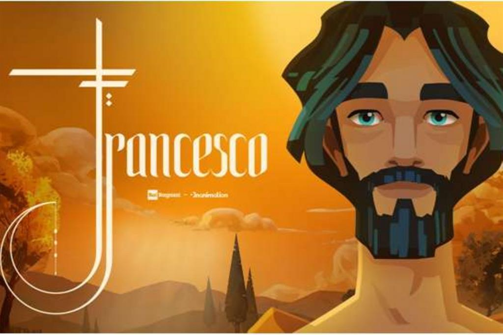 """Il cartoon """"Francesco"""" in onda il 4 ottobre su Rai1 e su Rai Gulp"""