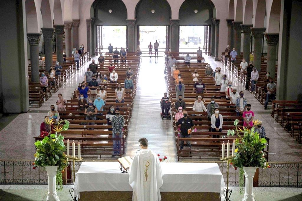 Una Messa al tempo del Covid