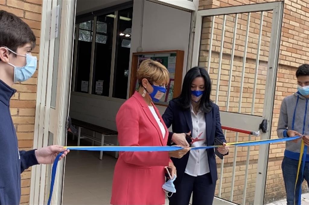 Inaugurato il primo liceo sportivo per sordi