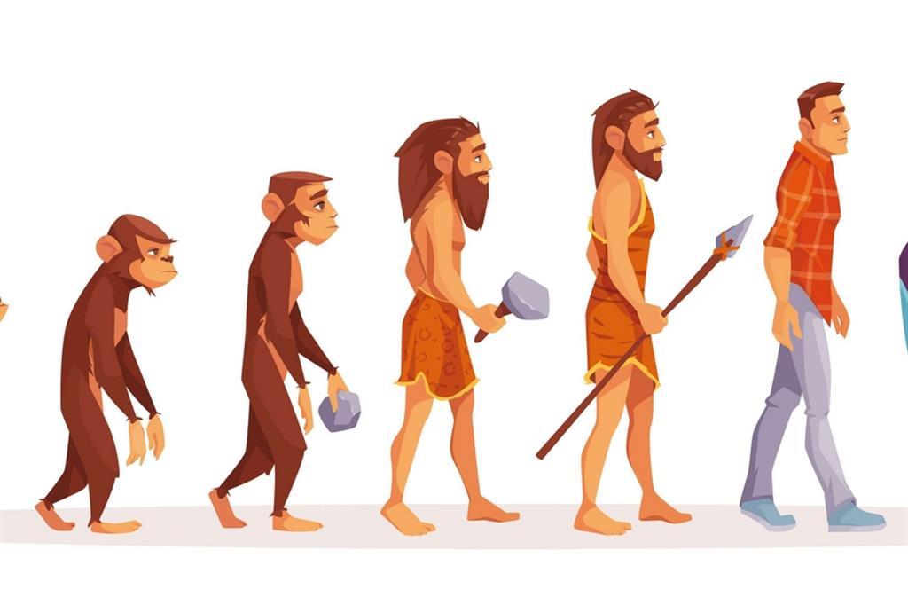 Nell'evoluzione il mistero dell'uomo