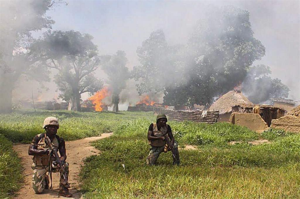 Un'operazione dell'esercito federale nello Stato del Borno contro Boko Haram