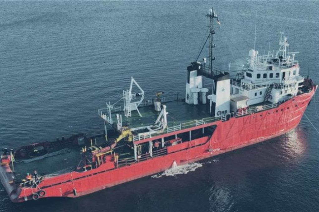 """La nave """"Sea Eye 4"""", con cui navigherà anche """"Moas"""" per soccorsi congiunti nel Mediterraneo"""