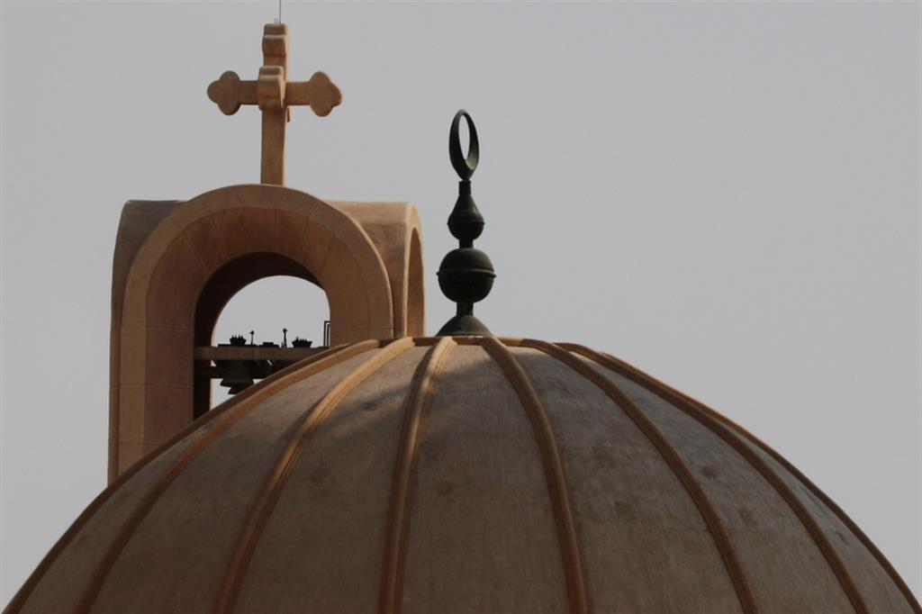 Chiese e minareti al Cairo, in Egitto