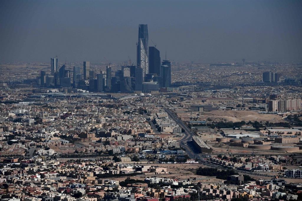 Riyadh, capitale dell'Arabia Saudita