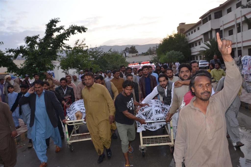 Una manifestazione in Pakistan contro le persecuzioni dei cristiani
