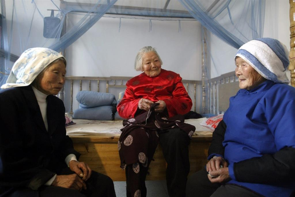 Anziane in Cina