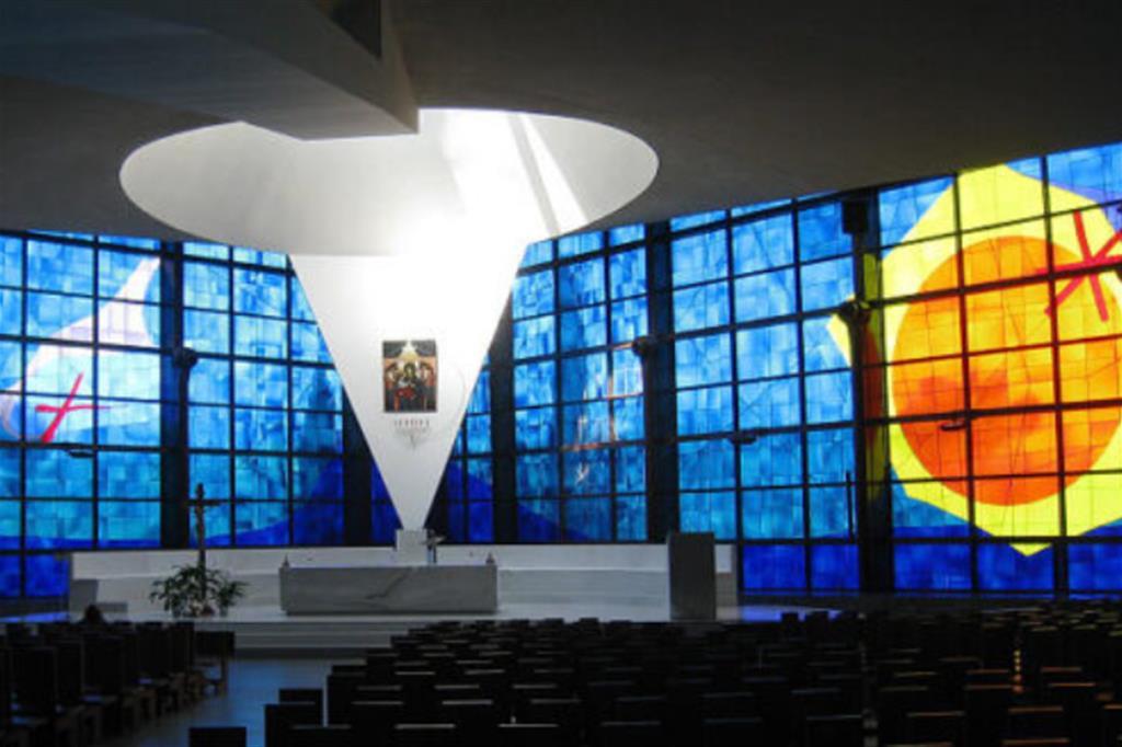 Il Santuario del Divino Amore a Roma. Da qui la Messa delle 11 su Raiuno