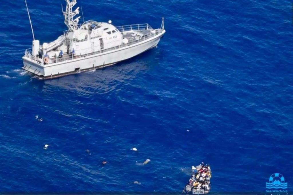 Immagine da un video di Sea-Watch