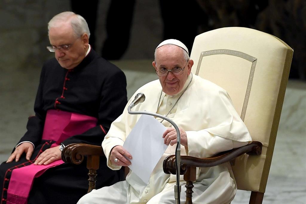 """Il Papa: tutti siamo """"santi"""" ma dobbiamo collaborare con Dio"""