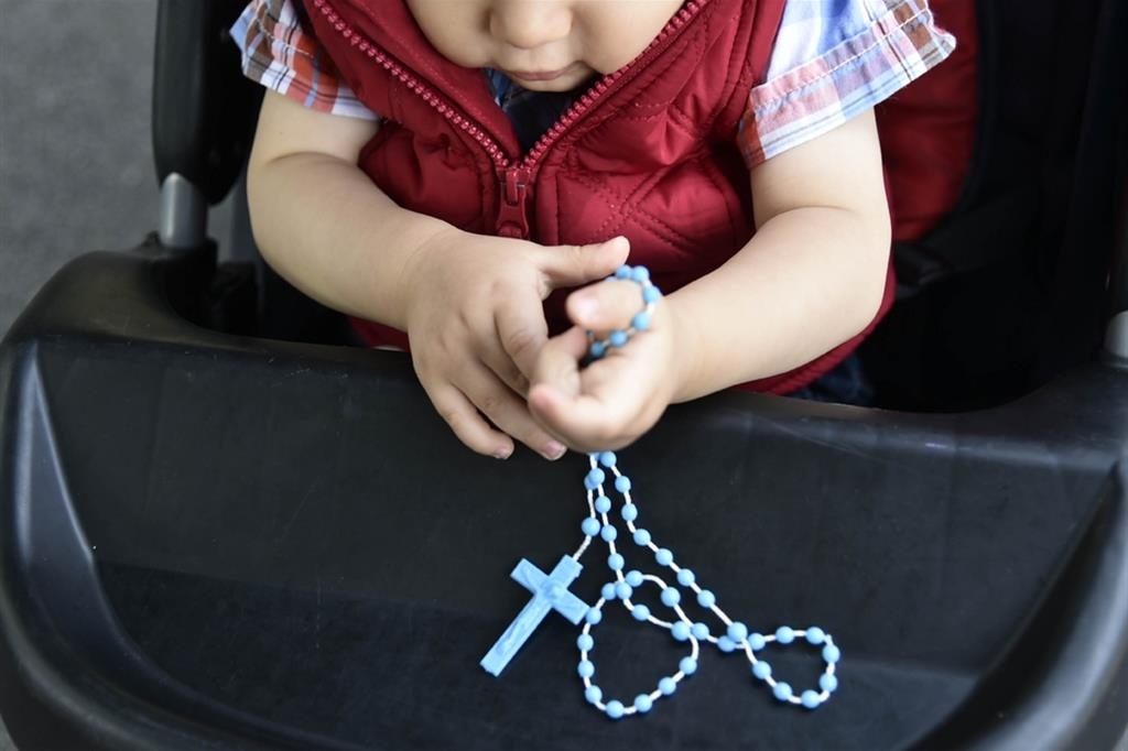 Lunedì 18 ottobre bambini uniti dalla preghiera