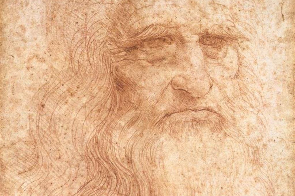 "Leonardo Da Vinci, ""Autoritratto"""