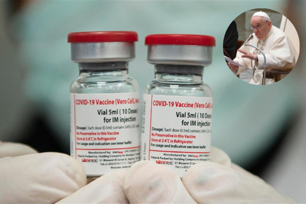 Responsabilità, amore, fraternità: sui vaccini le parole chiare del Papa