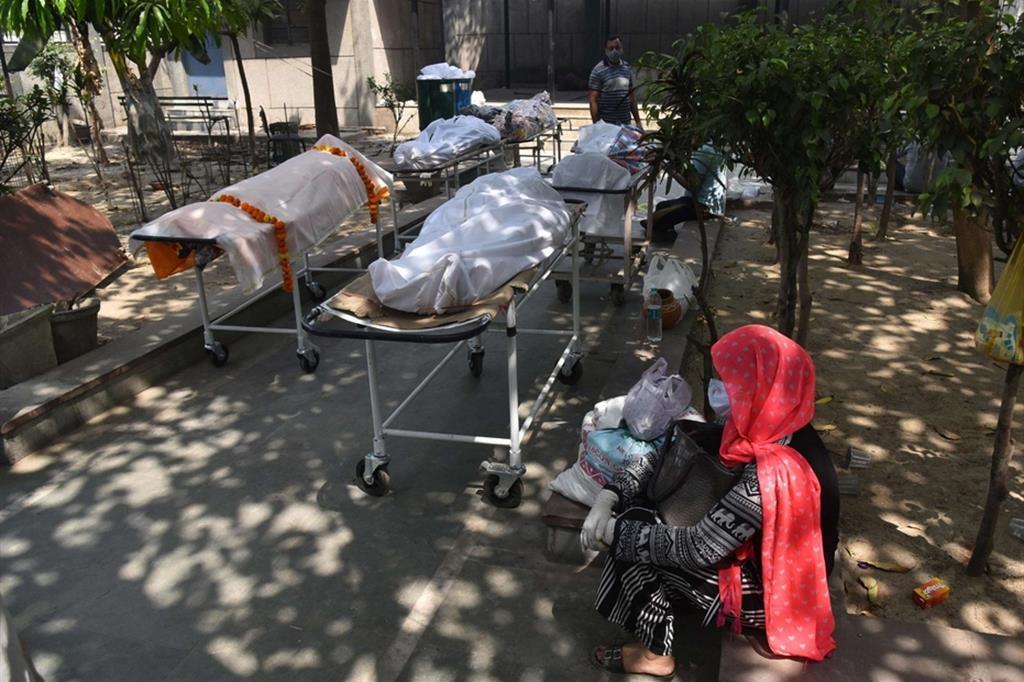 Morti e ancora morti per il Covid-19. In India si sta consumando un'immensa tragedia - Ansa