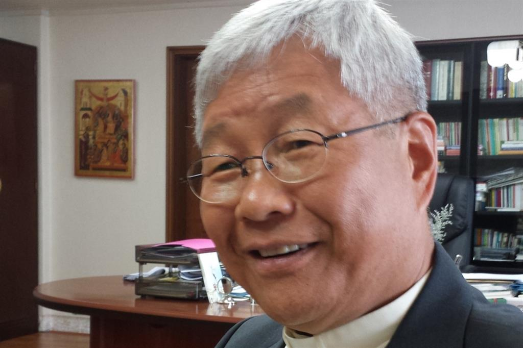 Il vescovo di Daejeon, mons. Lazzaro You Heung Sik
